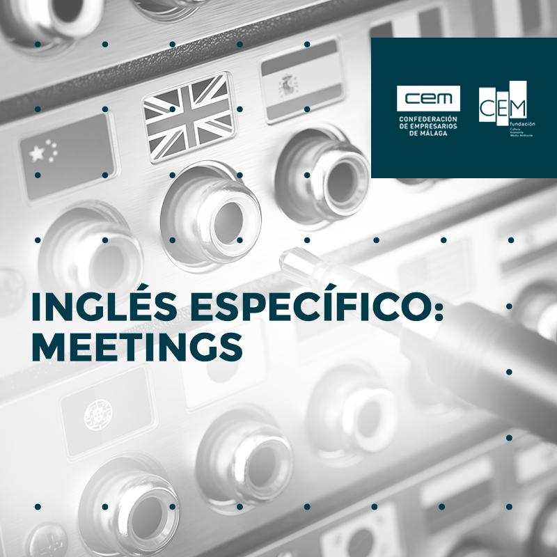 INGLÉS ESPECÍFICO: MEETINGS