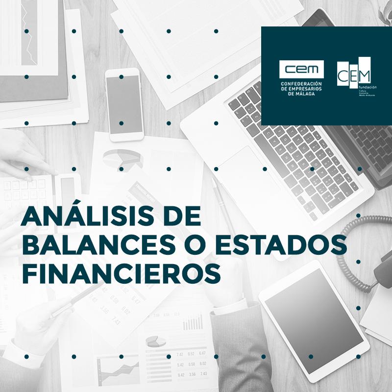 ANÁLISIS DE BALANCES O ESTADOS FINANCIEROS